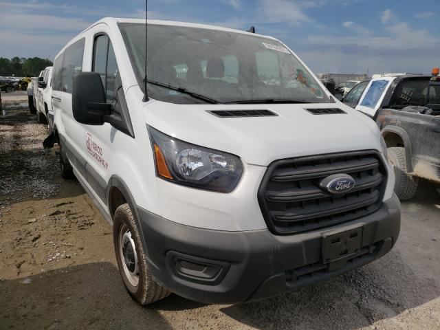 Salvage cars for sale from Copart Houston, TX: 2020 Ford Transit T