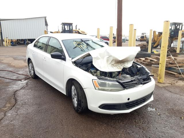 Salvage cars for sale from Copart Phoenix, AZ: 2012 Volkswagen Jetta Base
