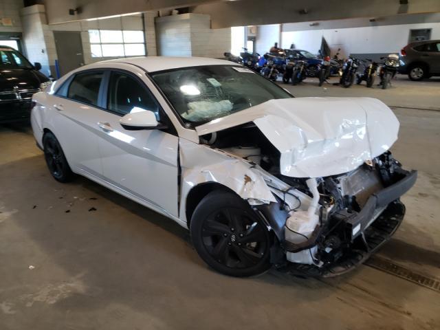 Salvage cars for sale from Copart Sandston, VA: 2021 Hyundai Elantra SE