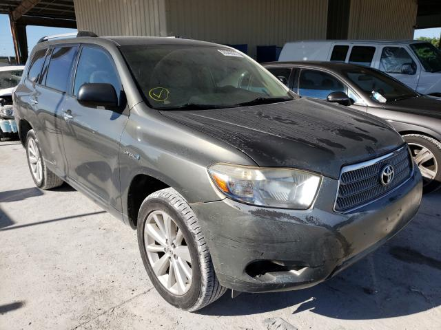Toyota salvage cars for sale: 2008 Toyota Highlander