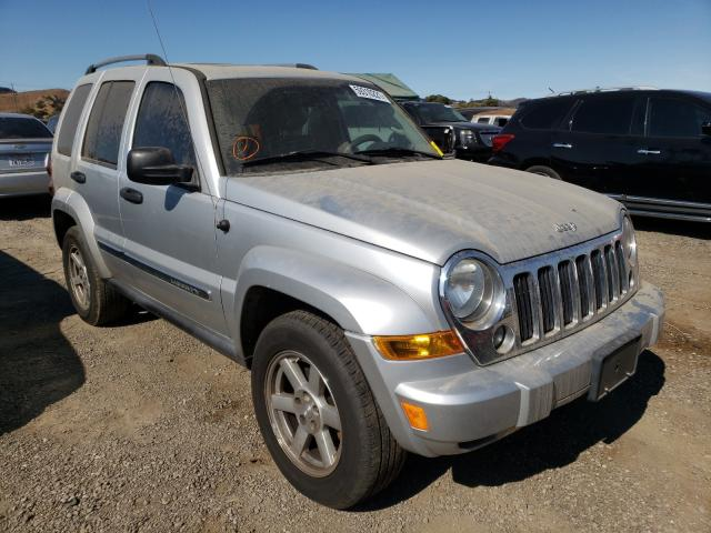 Salvage cars for sale from Copart San Martin, CA: 2007 Jeep Liberty LI