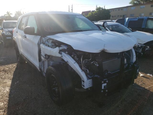 Salvage cars for sale from Copart Opa Locka, FL: 2020 Ford Explorer P