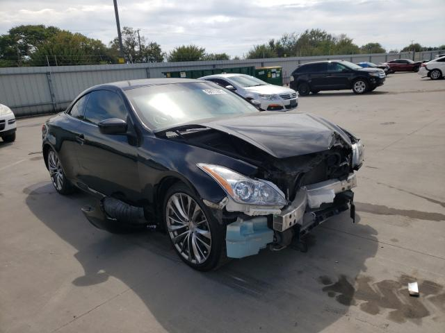 Vehiculos salvage en venta de Copart Wilmer, TX: 2010 Infiniti G37 Base