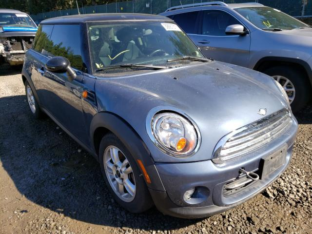 Salvage cars for sale from Copart Graham, WA: 2011 Mini Cooper