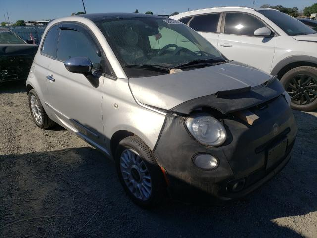 Salvage cars for sale from Copart Antelope, CA: 2013 Fiat 500 Lounge