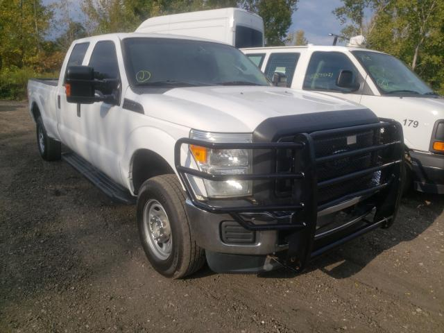 Salvage cars for sale from Copart Marlboro, NY: 2014 Ford F250 Super