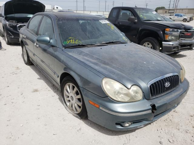 Salvage cars for sale from Copart Haslet, TX: 2004 Hyundai Sonata GLS