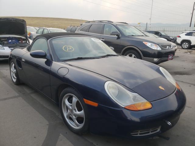 Porsche Boxster salvage cars for sale: 1999 Porsche Boxster