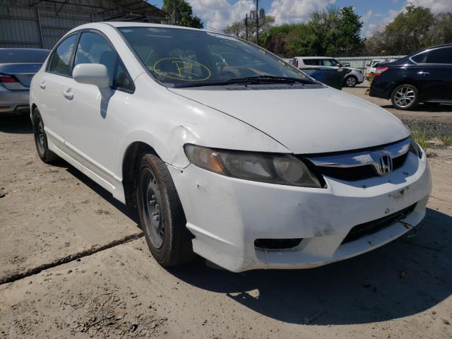Salvage cars for sale from Copart Corpus Christi, TX: 2009 Honda Civic LX