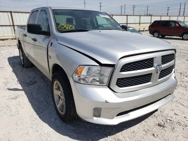 Salvage cars for sale from Copart Haslet, TX: 2015 Dodge RAM 1500 ST