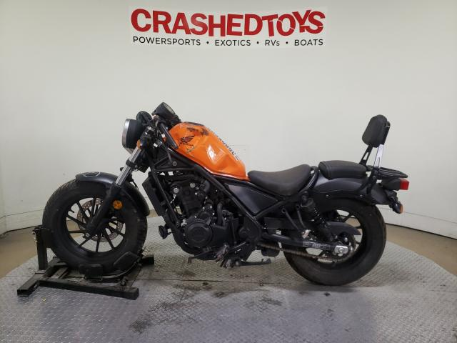 2019 HONDA CMX500 A - Right Front View