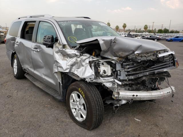Vehiculos salvage en venta de Copart Colton, CA: 2019 Toyota Sequoia SR