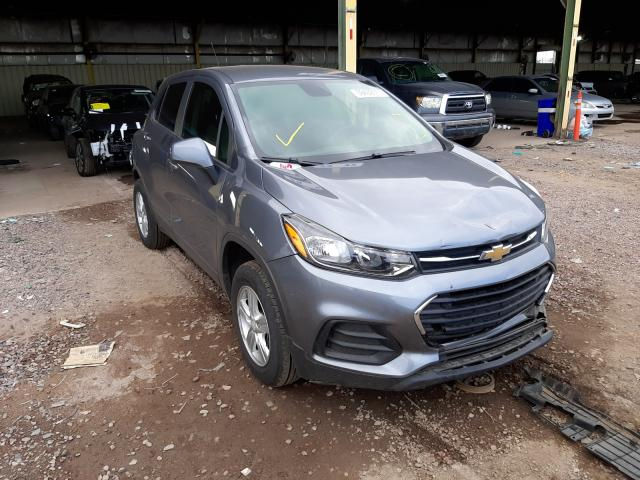 Salvage cars for sale from Copart Phoenix, AZ: 2020 Chevrolet Trax LS