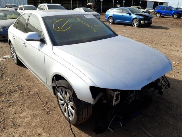 Salvage cars for sale from Copart Phoenix, AZ: 2009 Audi A4 Premium