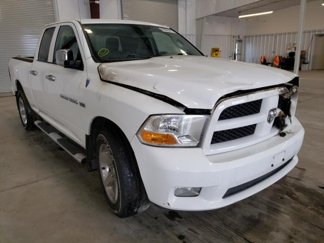 Salvage cars for sale from Copart Avon, MN: 2012 Dodge RAM 1500 S
