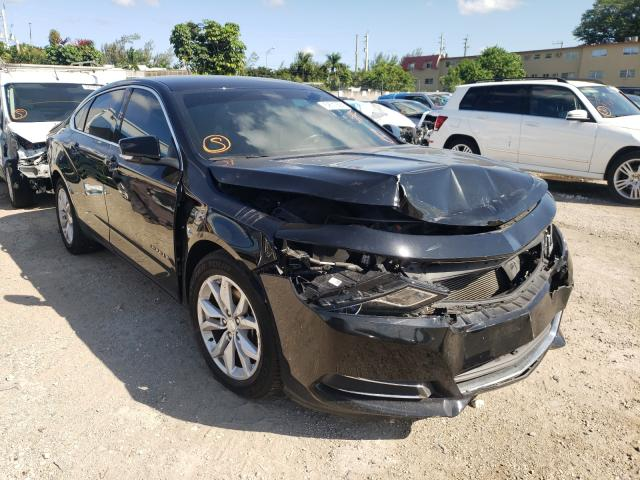 Salvage cars for sale from Copart Opa Locka, FL: 2017 Chevrolet Impala LT