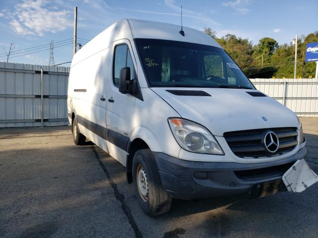 Salvage cars for sale from Copart West Mifflin, PA: 2011 Mercedes-Benz Sprinter 2