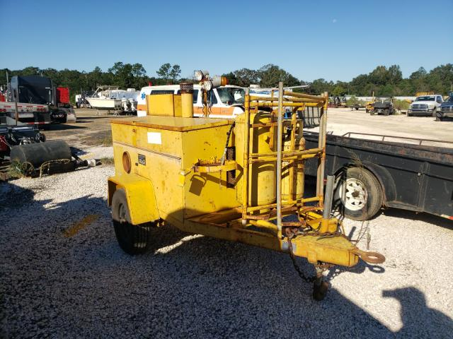 Salvage trucks for sale at Theodore, AL auction: 1988 Hesc 1500-3A