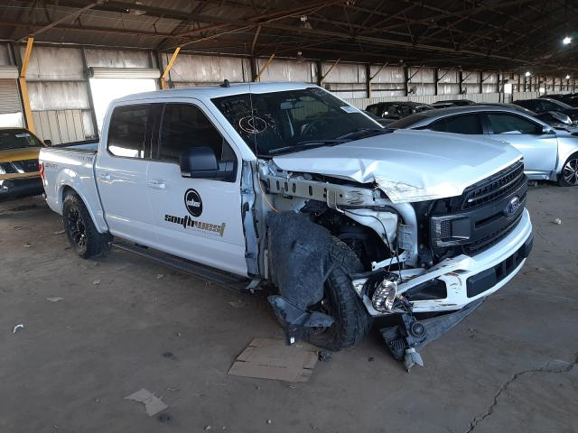 Salvage cars for sale from Copart Phoenix, AZ: 2019 Ford F150 Super