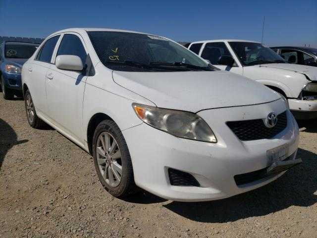 Salvage cars for sale from Copart Anderson, CA: 2009 Toyota Corolla BA