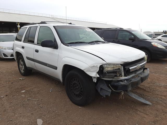 Salvage cars for sale from Copart Phoenix, AZ: 2003 Chevrolet Trailblazer