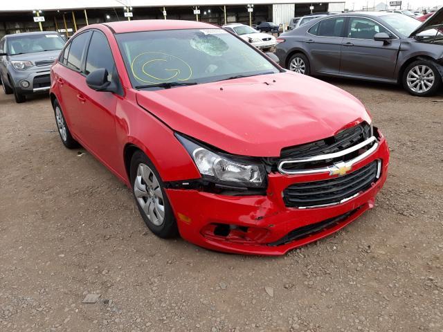 Salvage cars for sale from Copart Phoenix, AZ: 2015 Chevrolet Cruze LS