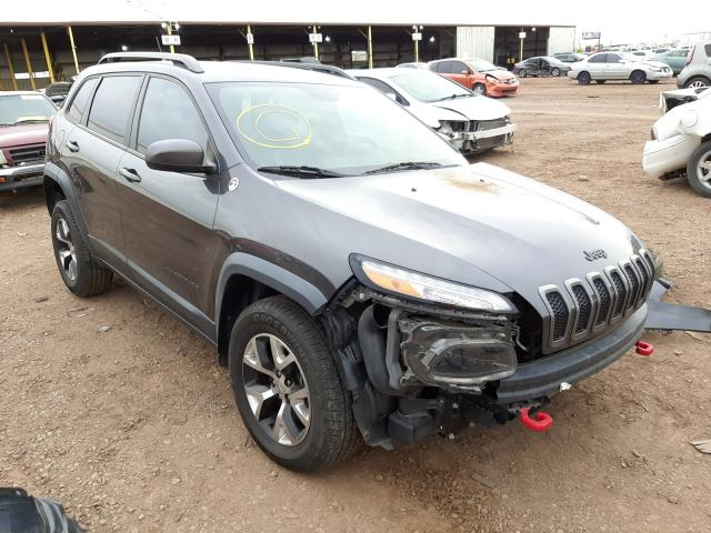 Salvage cars for sale from Copart Phoenix, AZ: 2015 Jeep Cherokee T
