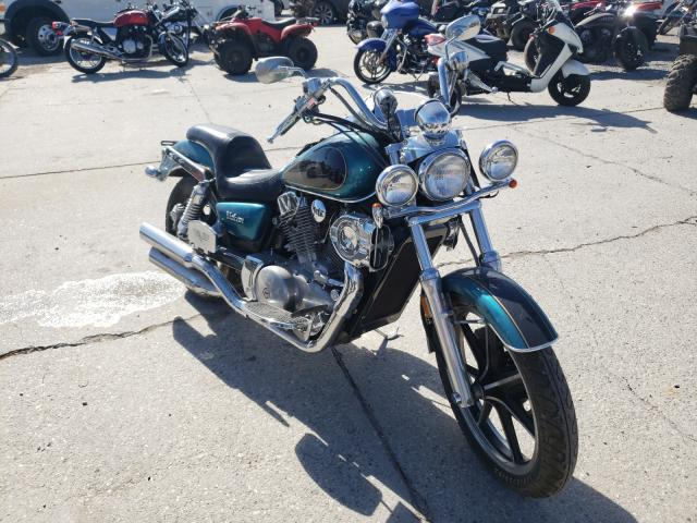 Salvage motorcycles for sale at New Orleans, LA auction: 1995 Kawasaki VN1500 A