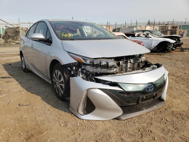 Salvage cars for sale from Copart San Martin, CA: 2020 Toyota Prius Prim