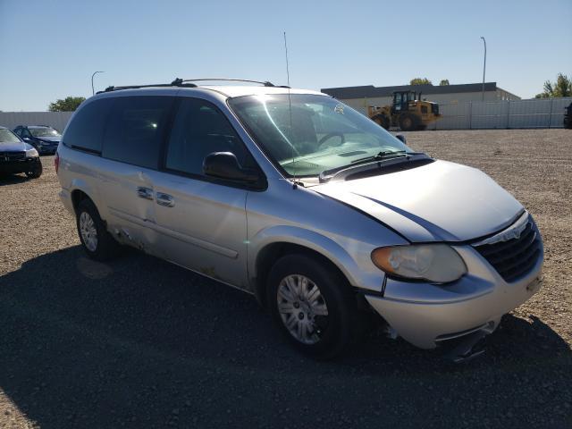 Vehiculos salvage en venta de Copart Bismarck, ND: 2005 Chrysler Town & Country