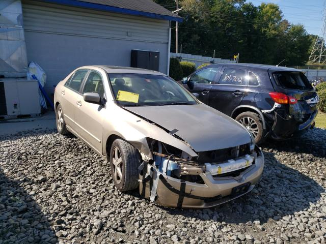 Salvage cars for sale from Copart Mebane, NC: 2004 Honda Accord EX