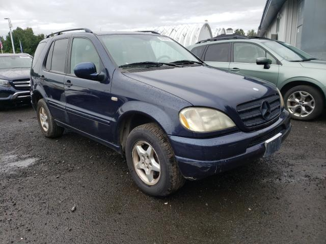 Salvage cars for sale at East Granby, CT auction: 2000 Mercedes-Benz ML 320