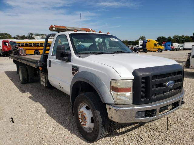 Salvage cars for sale from Copart Wilmer, TX: 2008 Ford F550 Super