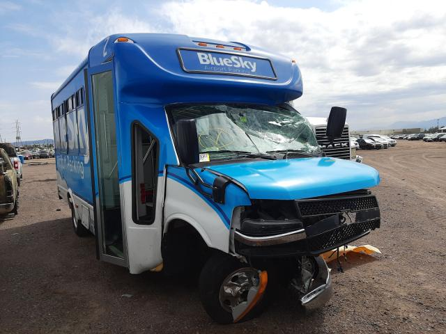 Salvage cars for sale from Copart Phoenix, AZ: 2020 Chevrolet Express G4