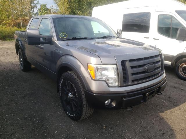 Salvage cars for sale from Copart Marlboro, NY: 2009 Ford F150 Super