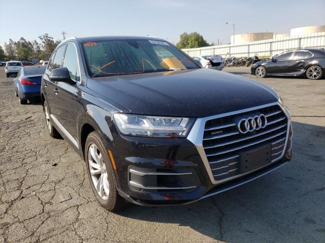 Vehiculos salvage en venta de Copart Martinez, CA: 2017 Audi Q7 Premium