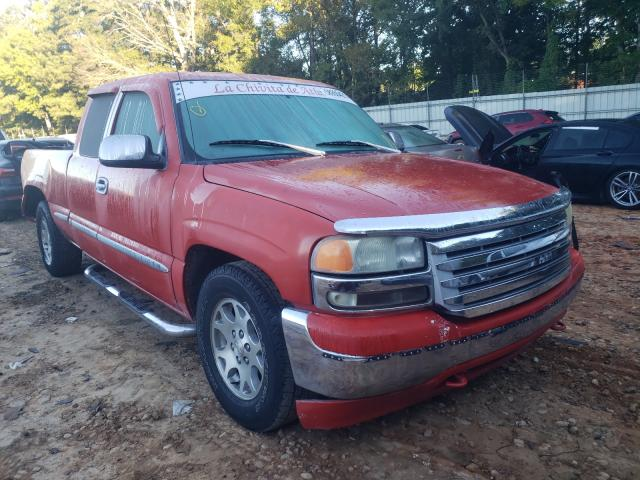 Salvage cars for sale from Copart Austell, GA: 2001 GMC New Sierra
