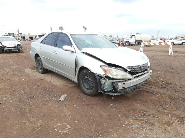 Salvage cars for sale from Copart Phoenix, AZ: 2002 Toyota Camry LE