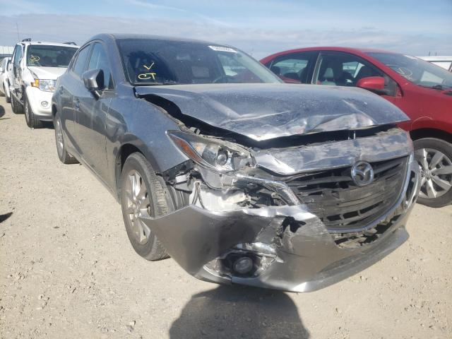 Salvage cars for sale from Copart Anderson, CA: 2015 Mazda 3 Touring
