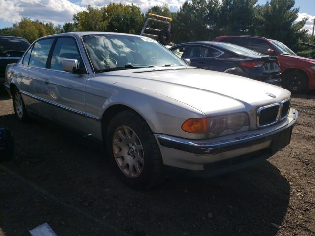 BMW 7 Series salvage cars for sale: 2000 BMW 7 Series