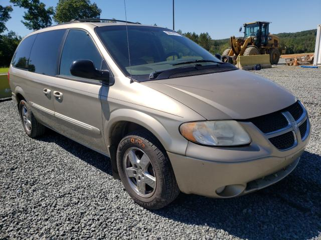 Salvage cars for sale from Copart Concord, NC: 2003 Dodge Grand Caravan