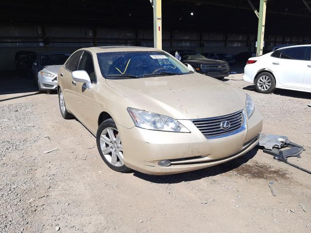 Salvage cars for sale from Copart Phoenix, AZ: 2007 Lexus ES 350