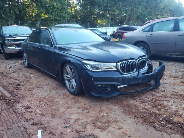 Salvage cars for sale from Copart Austell, GA: 2016 BMW 750 XI