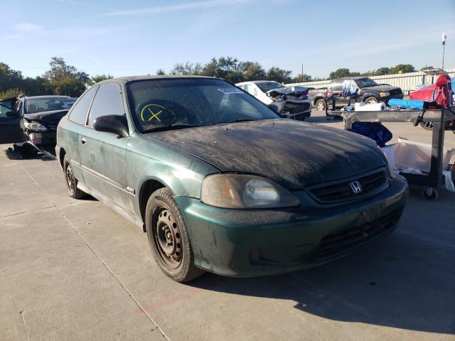 Vehiculos salvage en venta de Copart Wilmer, TX: 2000 Honda Civic DX