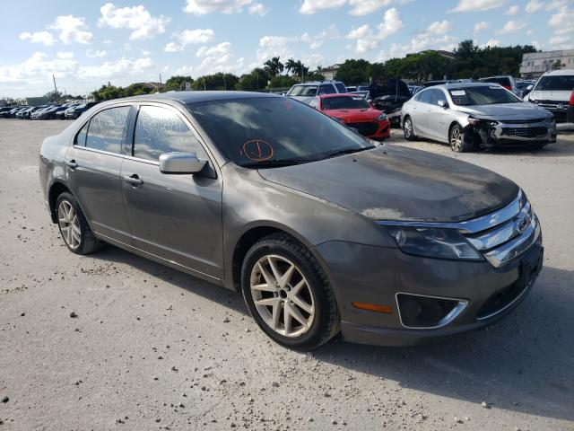 Salvage cars for sale from Copart Opa Locka, FL: 2011 Ford Fusion SEL
