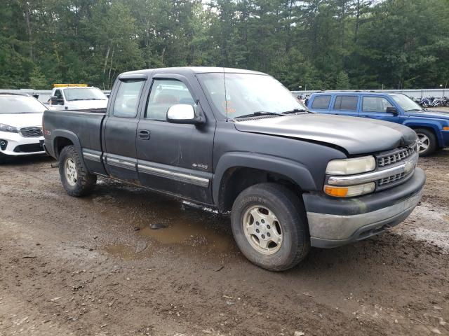 Salvage cars for sale at Lyman, ME auction: 2001 Chevrolet Silverado