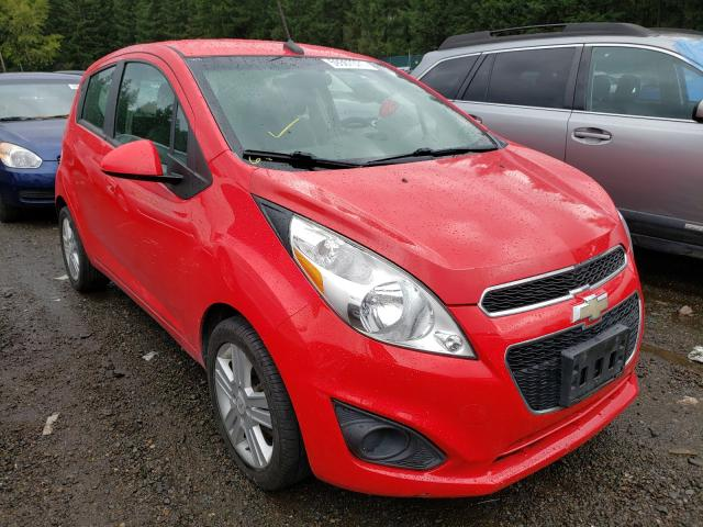 Salvage cars for sale from Copart Graham, WA: 2013 Chevrolet Spark LS