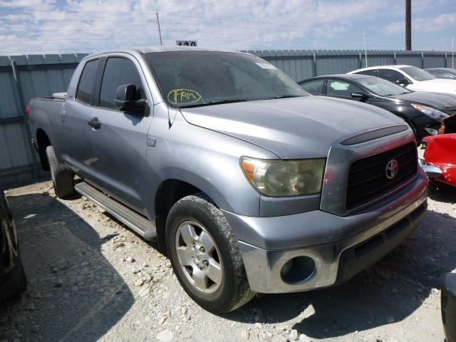 Salvage cars for sale from Copart Haslet, TX: 2008 Toyota Tundra DOU