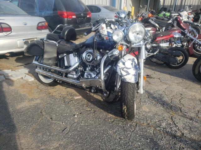 Salvage motorcycles for sale at Austell, GA auction: 2015 Harley-Davidson Flstn Soft