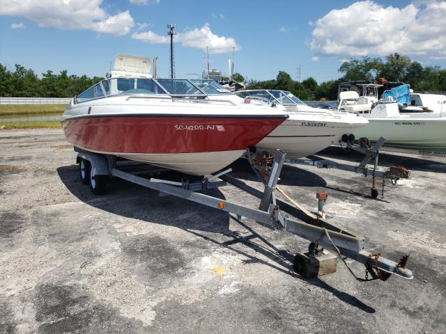 Salvage cars for sale from Copart Jacksonville, FL: 1993 Crownline Boat